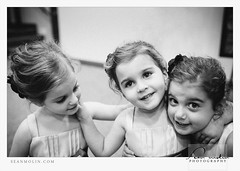 Besties In Training (Sean Molin Photography) Tags: wedding girls friends blackandwhite bw kids children october child married indianapolis grain greenwood marriage indiana editing bestfriends lightroom besties 2011 austinhill libbyhill vsco filmemulation wwwseanmolincom nikond300s filmpreset seanmolinphotography libbyyell vscofilm visualsupplyco