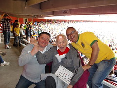 Brazil x Scotland @ Arsenal (Ronnie Biggs The Album) Tags: ronnie biggs greattrainrobbery oddmanout ronniebiggs ronaldbiggs
