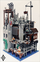 CAT 1: The heart of Arkham (Fianat) Tags: city office lego thief batman minifigure arkham