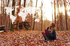 november (the girl who made it on her own) Tags: world november autumn red sun france fall me girl leaves clouds self moi nostalgia nostalgic worldmap ronakeller cloudworldmap nostalgicfortheworld