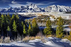 (James Neeley) Tags: mountains landscape tetons hdr grandtetonnationalpark snakeriveroverlook 5xp jamesneeley flickr23