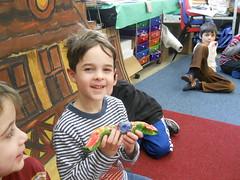 DSCN2817 (HMJDS Lions) Tags: art kindergarten hanukkah hanukkiah