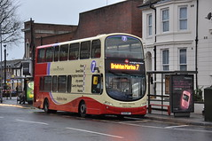 417 Goldstone Villas (Brighton VR) Tags: bus ahead marina coach brighton hove go harry 7 company and preston sir ltd villas 417 goldstone xht bj11