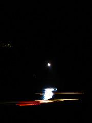 Helicopter searchlight over Hlmasund. (Jan Egil Kristiansen) Tags: sea reflection night helicopter searchlight beacon faroeislands trshavn hoyvk tyrla hoyvkshlmur img7453 lyskaster nightcarlights fkhoyvk fo24 skelys hmasund