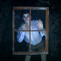 into the depths of death (brianoldham) Tags: ocean wood boy window water glass rocks underwater antique air bubbles cracks drowning chippedpaint alexstoddard brianoldham intothedepthofdeath