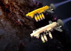 pod one gone bad... (halfbeak) Tags: lego space scifi kepler moc microspace spaceopera spacescene microspacetopia scilug keplerarks