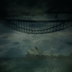 Sydney icon double (sonofwalrus) Tags: ocean sea film water clouds holga lomo lomography icons doubleexposure sydney australia scan soh sydneyoperahouse sydneyharbourbridge multiexposure 2x shb hpc5380