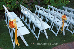 Menlo Park Floral, Wedding Chair Flowers (Signature Bloom) Tags: pictures dahlia wedding decorations summer orange orchid flower floral rose yellow for design designer events ceremony cream sanjose images designs florist vendor siliconvalley bouquet bridal decor peninsula southbay ideas weddingflowers menlopark bouquets weddingphotos 94025 floraldesign sanjoseca specialevents weddingideas menloparkca bridalflowers oncidiumorchid cymbidiumorchid ceremonyflowers weddingdecorations alliedartsguild floraldesigner flowerdesign aisledecor 95121 weddingflorist weddingfloral yellowwedding weddingvendor aisledecorations chairflowers summerbouquets flowersforwedding sanjoseflorist yellowbouquets sanjoseweddingflowers signaturebloom wwwsignaturebloomcom sanjoseweddingflorist bridalflorist weddingfloristsanjoseca alliedartsguildweddings yellowandorangebouquets