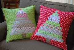 Christmas tree pillow case (coco stitch) Tags: