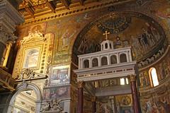 Basilica di Santa Maria in Trastevere (ejhrap) Tags: santa church catholic maria basilica trastevere di basilicaofourlady