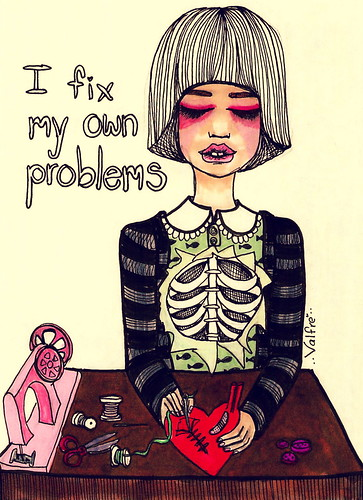 It's okay...I fix my own problems / Ilse Valfre