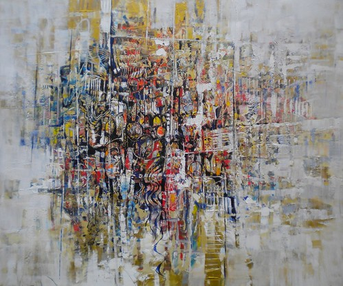Confusion - Painting - Abstract