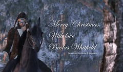 Merry Christmas. With love, Beo (beolas.whitfield) Tags: life christmas horse ava weihnachten happy holidays furniture interieur postcard avatar avi sl arab second merry whitfield frhliche gesegnete beolas kusshon