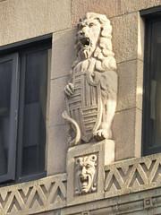 Faces on the Wall (H. Evan Miller) Tags: face architecture nikon architecturaldetail lion australia adelaide southaustralia rundle p500 hevanmiller
