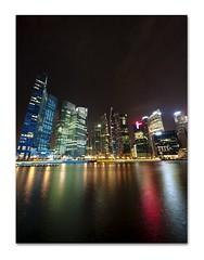 Home (retroSPecktive) Tags: night landscape singapore olympus cbd raffles ep2