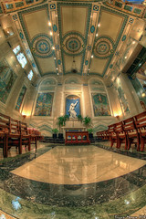 Our Lady's Chapel (BrianMoranHDR) Tags: art church washingtondc catholic artistic interior ceiling fisheye hdr stmatthewscathedral hdrsoft topazlabs niksoftware canon5dmarkii dxoopticspro6 viveza2 cgrantlafarge adobephotoshopcs5extended denoise5 silverefexpro2 ourladyschapel colorefexpro4 canon815mmlfisheye photomatixpro414