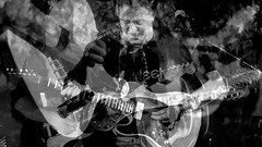 distorte (lucia bianchi) Tags: bw music collage livemusic band guitars bn musica concerts confusion musicalinstruments concerti chitarre introspezione strumentimusicali distorte lannoseneva evialeparolevanechescivolanodallechitarreesenevannovibranononrestanienteunsuonochesisenteepoiscompare yeargoes thebluesmaninthemiddleispaolobonfanti