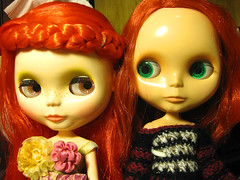 Two red hair girls