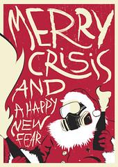 Santa Claus is coming to town... (Rote-grafik) Tags: santa xmas red black mask fear goggles santaclaus crisis rote molotow merrycrisis merrycrisisandahappynewfear indyvisuals rotegrafik