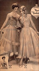 the 1950s-1952 short evening dresses (april-mo) Tags: 1952 the50s vintagefashion the1950s vintageeveningdress shorteveningdress 1952catalog 1952shorteveningdress