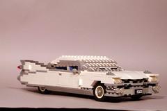 1959 Cadillac Eldorado Seville Hardtop (lego911) Tags: auto usa classic car america model lego 911 seville cadillac eldorado chrome 1950s v8 caddy 1959 lugnuts fines moc miniland thestuffdreamsaremadeof foitsop