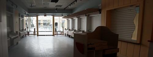 Former Aldo store