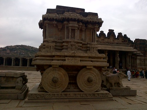 New Year, Golden Chariot, 2011-2012, Hampi