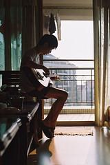 Season of Loneliness (a l e x . k) Tags: portrait film pentax lx