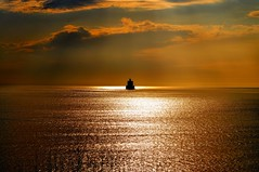 Haunted......... (l_dewitt) Tags: ocean sun lighthouse water thames clouds river nikon connecticut newengland haunted coastline newlondon northeast groton southeastern ledgelight d5000 mygearandme mygearandmepremium mygearandmebronze mygearandmesilver mygearandmegold mygearandmeplatinum mygearandmediamond