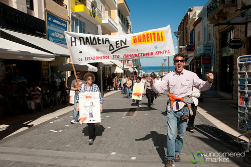 Heraklion Demonstrations