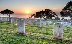 Its not really a free country... (Chad McDonald) Tags: ocean life california ca sunset usa cemetery grave graveyard army death memorial war pacific sandiego fort tomb tombstone navy january funeral 1910 veteran dixie 1960 pointloma cabrillo rosecrans w1507
