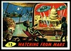 "Mars Attacks #13 ""Watching From Mars"" (cigcardpix) Tags: mars vintage advertising comic graphic ephemera fantasy horror sciencefiction attacks reprint tradecards gumcards"