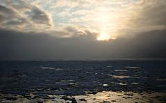 20111228-frozen ocean (sloutrel) Tags: ocean sunset cloud snow cold ice alaska sunrise landscape