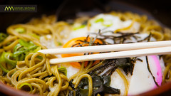 Udon noodle soup : Arashiyama, Kyoto, Japan / Japn (Lost in Japan, by Miguel Michn) Tags: japan udon kyoto comida egg arashiyama chopsticks gastronomia  noodle japanesefood  kioto  huevo gastronomy comidajaponesa japn palillos