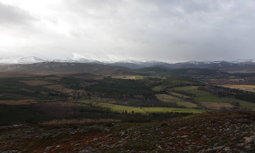 The hills around the A93