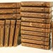 192. 19th Century Thackery Leatherbound Books