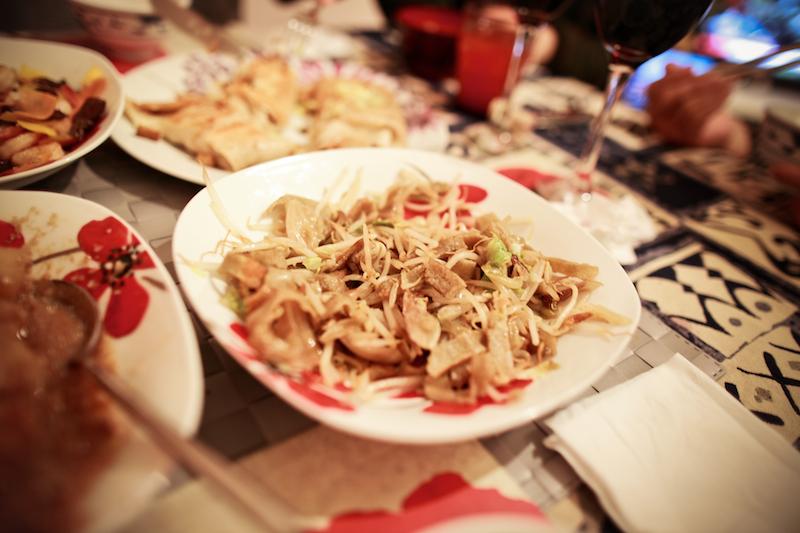 Chen Jie home dinner 025