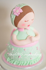 My Angelic Manika Cake (Klaire with a Cake) Tags: birthday cakes cake doll little christening cupcakery manika bpatism klairescupcakes