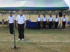 พิธีเปิดการแข่งขันกีฬาภายในโรงเรียนนายทหารเรือชั้นต้น