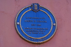 Photo of Joseph H. Fenner blue plaque