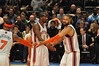 Tyson Chandler, AMARE STOUDEMIRE and Carmelo Anthony