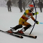 Teck Enquist Slalom, January 2012, Mt. Seymour - Alex Gershon (WMSC) PHOTO CREDIT: Steve Fleckenstein
