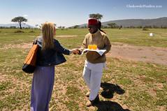 Welcome at the airstrip, Kenya (Dan & Luiza from TravelPlusStyle.com) Tags: africa kenya masaimara cottars1920scamp