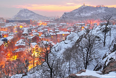 Plovdiv, my love (.:: Maya ::.) Tags: city houses winter tree cityscape view hill bulgaria plovdiv            mayaeye mayakarkalicheva