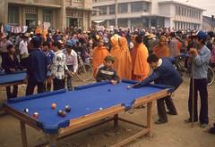 Pool (misterworthington) Tags: china travel orange pool market burma monk mao prc kunming yunnan 1986 mekong redstar maohat maosuit peoplesrepublicchina
