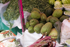 """Thorny chayotes<br /><span style=""""font-size:0.8em;"""">Read more about it here:<br /><a href=""""http://whatscookingmexico.com/2012/01/30/market-monday-sullivan-tianguis-a-photoset/"""" rel=""""nofollow"""">whatscookingmexico.com/2012/01/30/market-monday-sullivan-...</a></span> • <a style=""""font-size:0.8em;"""" href=""""https://www.flickr.com/photos/7515640@N06/6789292199/"""" target=""""_blank"""">View on Flickr</a>"""