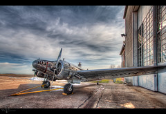 Hanging with the Beechcraft (Theaterwiz) Tags: ohio museum vintage airplane aircraft maps historic beechcraft propeller usnavy promote photomatix expeditor starkcounty canon1022efs snb5 canon7d 11exposures promotecontrol theaterwiz theaterwizphotography michaelcriswell