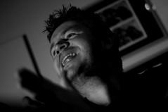 Manic Musician Al (Mike*T*) Tags: school music 50mm al live candid event stewart alstewart henbury strobist
