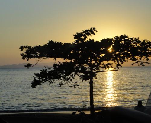 Atardecer sobre el Golfo de Nicoya