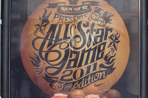 Vitrine Nike - Paris, décembre 2012